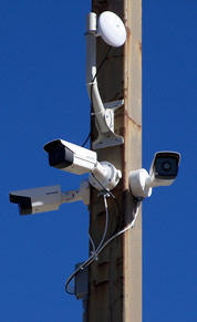 Wirless security cameras